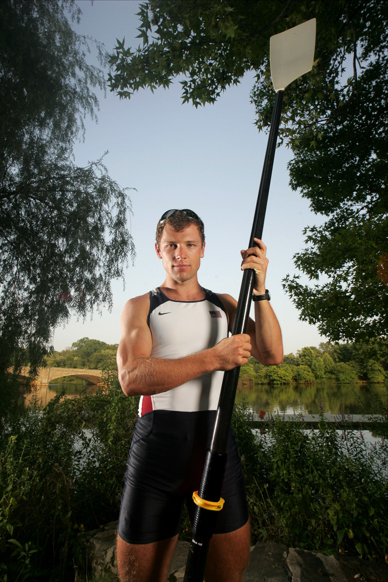 US OLYMPIC ROWER JASON READ